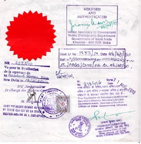 certyfikacja tłumaczenia przysięgłego
