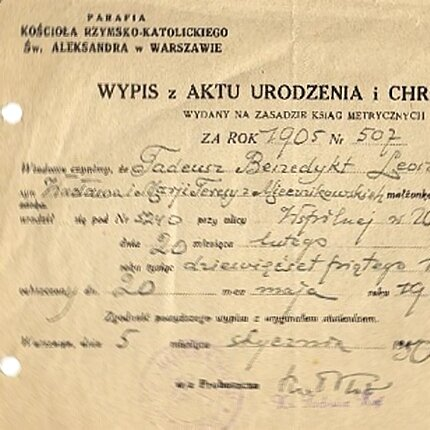 tłumaczenia - dokument